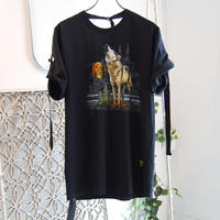 SHIROMA remake spindle T-shirts【2】