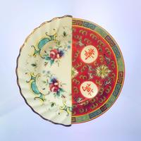 SELETTI hybrid plate 20cm EUDOSSIA