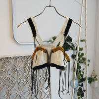 SHIROMA spindle bustier