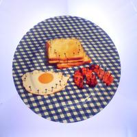 50%OFF!!! SELETTI TOILETPAPER dinner plate 27cm BREAK FAST