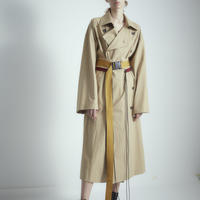 SHIROMA 18S/S ANARCHY oversized trench coat