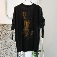 SHIROMA remake spindle T-shirts【7】
