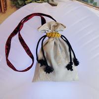 SHIROMA 17-18A/W Female punks shoulder bag -light blue-