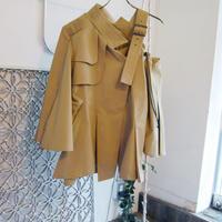 SHIROMA 18-19A/W CHURCH break up trench jacket