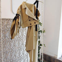 SHIROMA wrap trench coat
