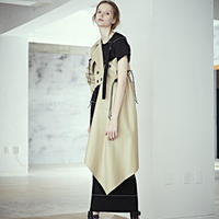 SHIROMA 19S/S wrap trench coat