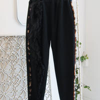 SHIROMA 17-18A/W Female punks sweatpants -black-