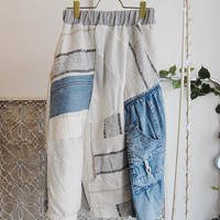 Yan na Maury mix blouson skirt 【5】