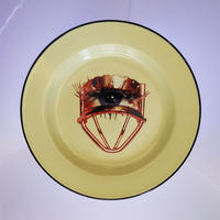 SELETTI TOILETPAPER plate 26cm EYE