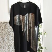 SHIROMA oversize thick print T-shirt