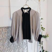 SHIROMA 17-18A/W Female punks wool blouse
