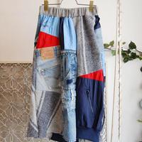 Yan na Maury mix blouson skirt 【3】
