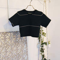 SHIROMA 19S/S rib knit top