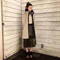 Yan na Maury mix liner skirt