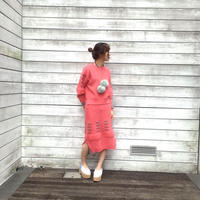 BANSAN nissyouki pink sweater