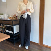 《予約販売》pin tuck slacks pants