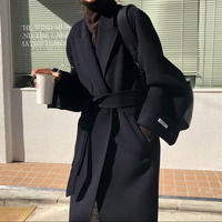 《予約販売》wool100% handmade long coat (2color)