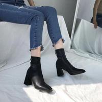 《予約販売》socks ankle heel  boots