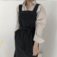 《予約販売》stitch belt one-piece