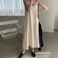 《予約販売》silk bustier long one-piece