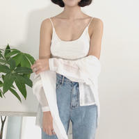 《予約販売》under free bra top camisole