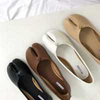 《予約販売》tabi flat shoes