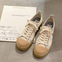《予約販売》bi color canvas sneaker
