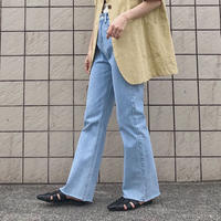 《予約販売》full length wide denim pants