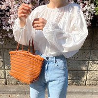 《予約販売》wrinkle band blouse