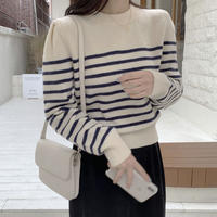 《予約販売》striped knit (2color)