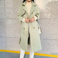 《予約販売》wool blend long coat