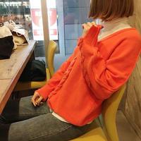 ribbon v knit