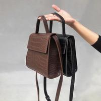 《予約販売》square cross 2way bag