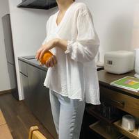 《予約販売》chemical lace frill blouse