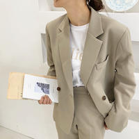 《予約販売》 made double jacket / setup◎