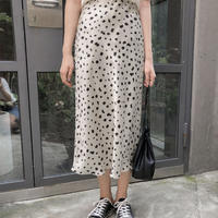 《予約販売》leopard flare long skirt