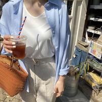 《予約販売》stripe shirt
