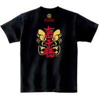 神楽Tシャツ(高千穂町)/男女兼用(ブラック)