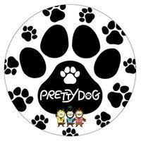 みやざき犬ステッカー/直径9.5㎝(足跡)