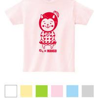みやざき犬 Jr.用Tシャツ むぅ×マンゴー