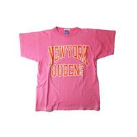 COPY CAT   -コピーキャット-  OLD SHORT SLEEVE TEE -NEWYORK QUEENS  -PINK