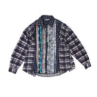 Rebuild by Needles Ribbon Flannel Shirt wide - onesize ④