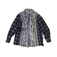 Rebuild by Needles Ribbon Flannel Shirt wide - onesize 13