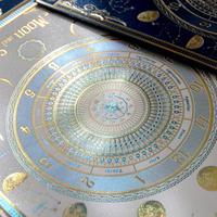 【 最終 】【 リニューアル 】【 3刷目 】 箔便箋 『 月読時計( ツクヨミ トケイ ) 』