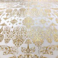 花形装飾活字( エンスヘデ活字鋳造所 ) 箔押し包装紙