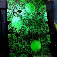 【 実験加工物 】 Foil Stamping Volbox Expression Poster