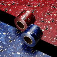 アルティメイト箔押しマスキングテープ 『 ナスカ・パルパの電子回路 』 赤 [ a ka(あか) ] or 青 [ a u(o)(あお) ]