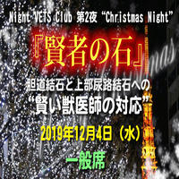 "Night VETS Club 第2夜""Christmas Night"" 『賢者の石』一般席:東京:12月4日"