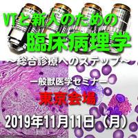 VTと新人のための臨床病理学【尿が教えてくれること】東京:2019年11月11日(月)