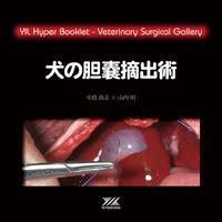 YILハイパーブックレット ヴェテリナリサージカルギャラリー「犬の胆嚢摘出術」
